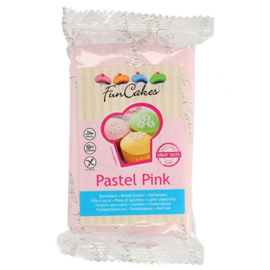 Fun Cakes Masa cukrowa lukier plastyczny PASTEL PINK 250g