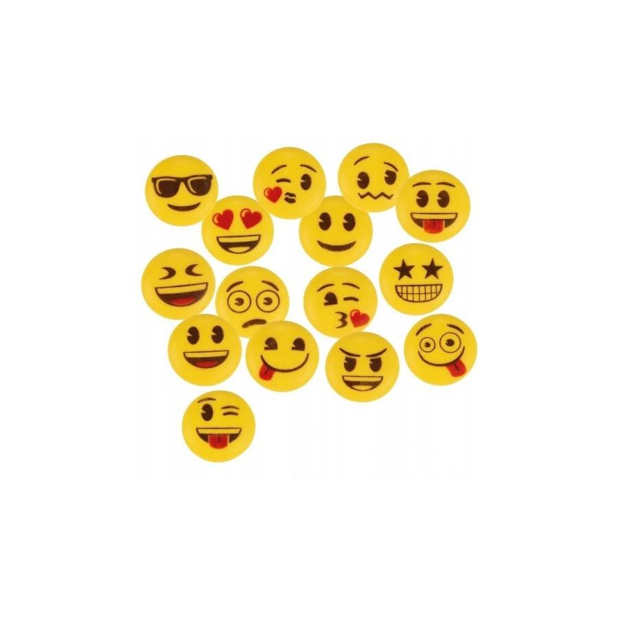 Cukrowe buźki emotki smiley 5szt mix