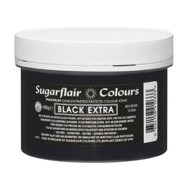 Sugarflair Barwnik spożywczy koncentrat EXTRA BLACK 400g