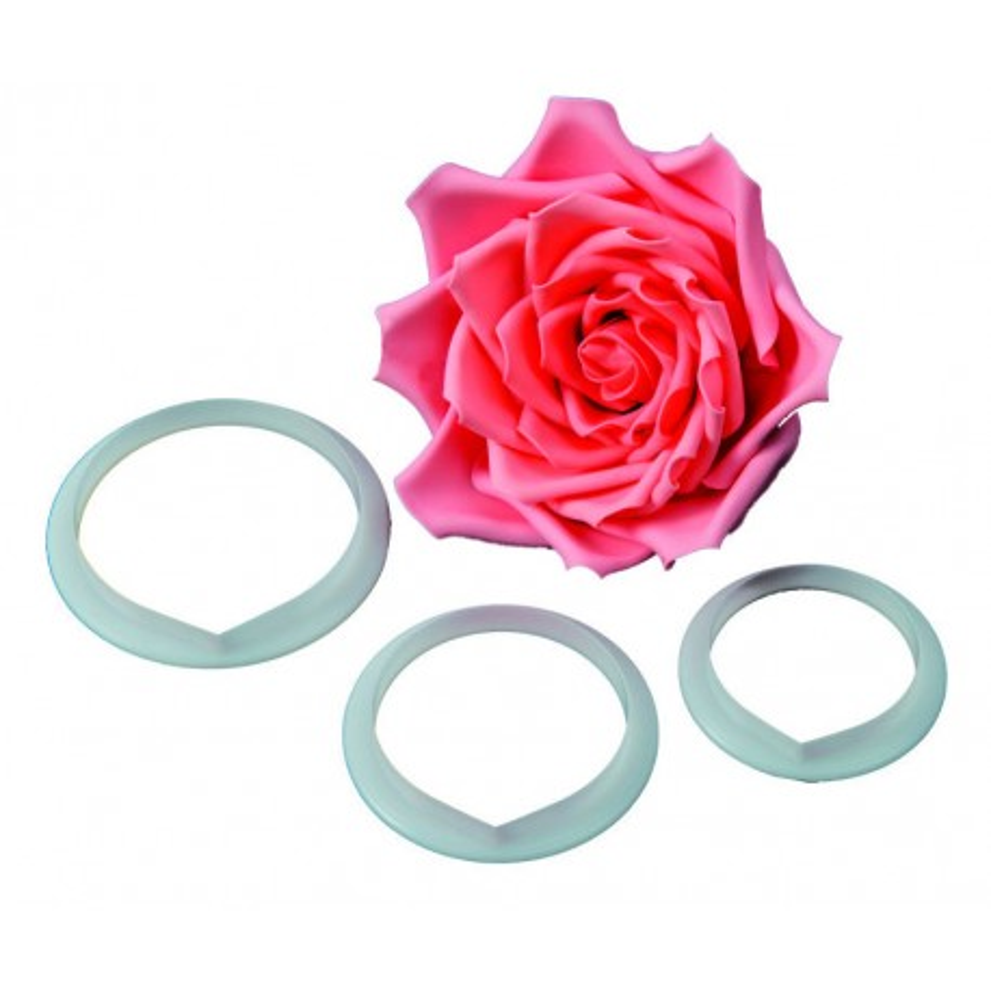 FMM Foremki do wycinania płatków róży XL 3szt