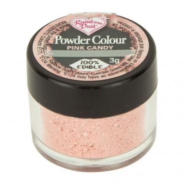 Rainbow Dust Barwnik pudrowy matowy do malowania PINK CANDY CUKIERKOWY RÓŻ