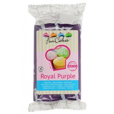 Fun Cakes Masa cukrowa lukier plastyczny ROYAL PURPLE FIOLET 250g