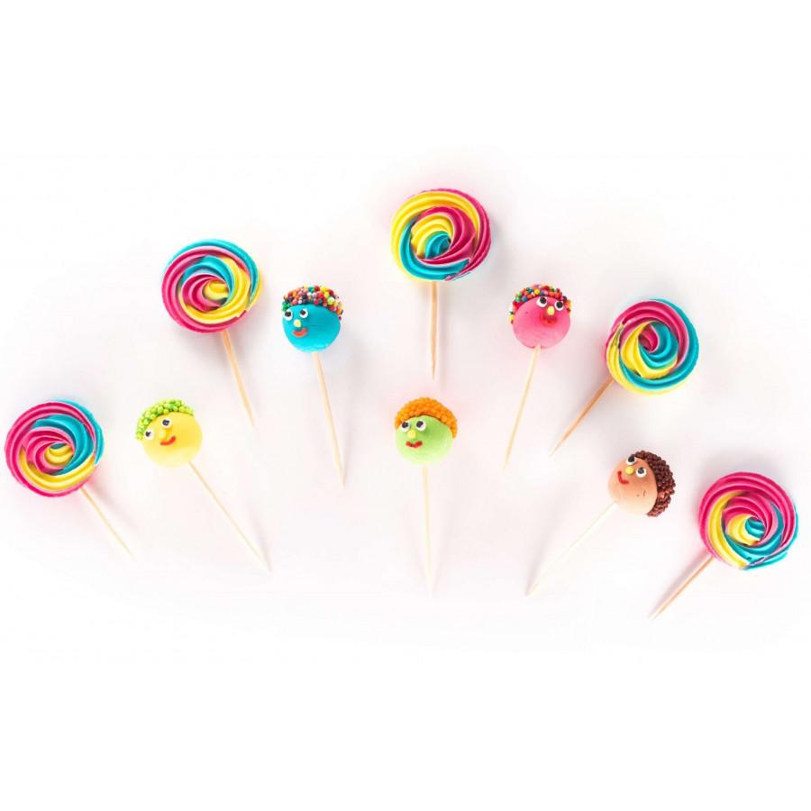 Figurki cukrowe Wesołe Muppety lizaki 10szt 0481