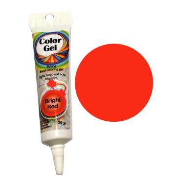 WowKolor Barwnik żelowy koncentrat w tubce CZERWONY RED 30g