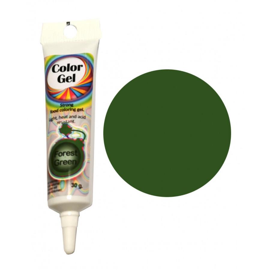 WowKolor Barwnik żelowy koncentrat w tubce FOREST GREEN 30g