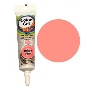 WowKolor Barwnik żelowy koncentrat w tubce RÓŻOWY PINK 30g