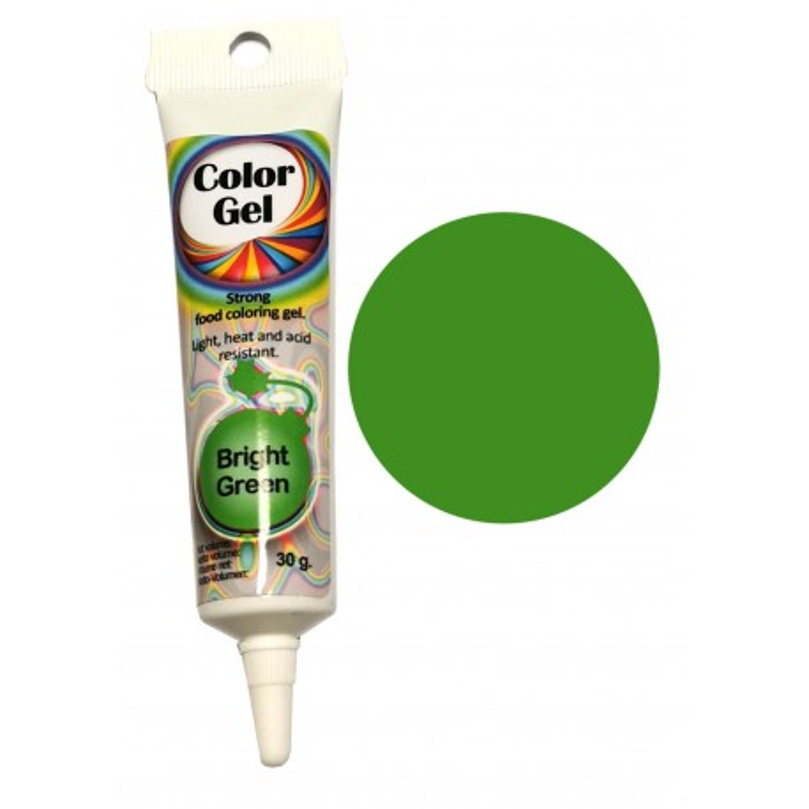 WowKolor Barwnik żelowy koncentrat w tubce ZIELONY GREEN 30g