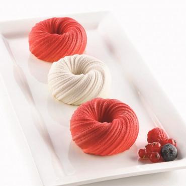 Silikomart forma platynowa do pieczenia ciastek MINI INTRECCIO 3D