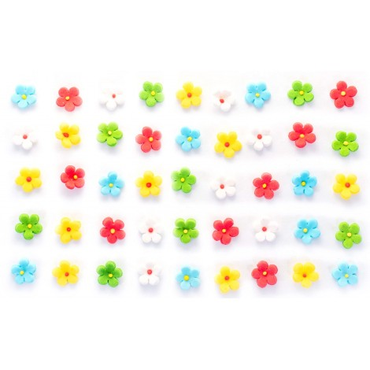 Kwiaty Cukrowe Na Tort Urodzinowy Kwiaty Jabłoni Kolorowe EX1051