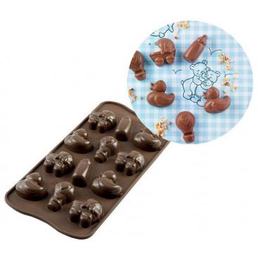 Silikomart Forma silikonowa do czekoladek pralinek BABY SCG031