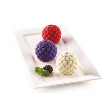Silikomart forma platynowa do pieczenia ciastek JEŻYNA 3D