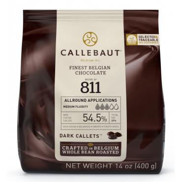 Dropsy czekoladowe Callebaut CZEKOLADA DESEROWA 811 400g