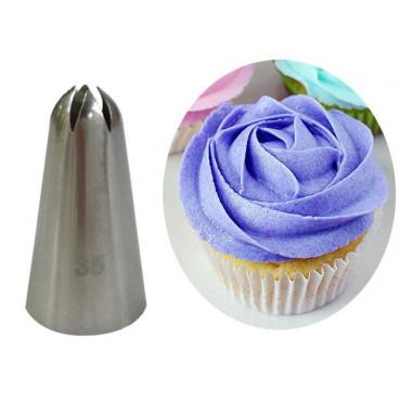"""Tylka cukiernicza do kremu mała róża """"35"""" Sweet Baking"""