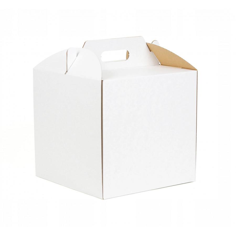 Pudełko na tort wysokie 26x26x25cm