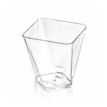 Pucharek przeźroczysty do deserów PLASTIKOWY 60ml 25szt DIAMOND