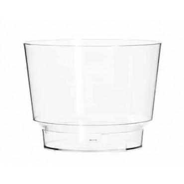 Pucharek przeźroczysty do deserów PLASTIKOWY 150ml 25szt GLASS