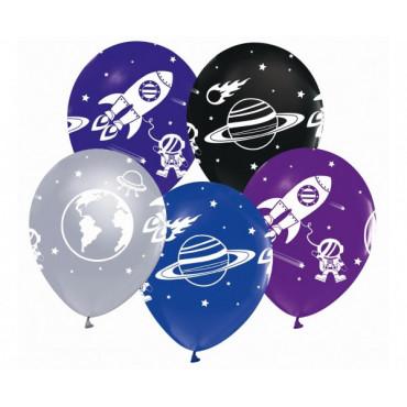 """Balony urodzinowe """"KOSMOS"""" 5szt GZ-KOS5"""