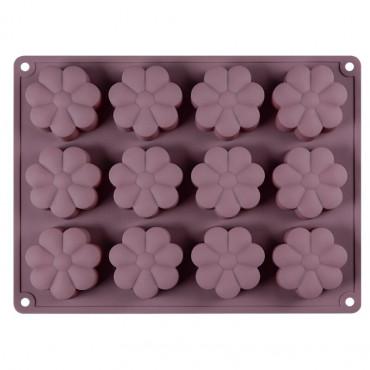 Forma silikonowa do pieczenia ciastek STOKROTKI 12gn 9106
