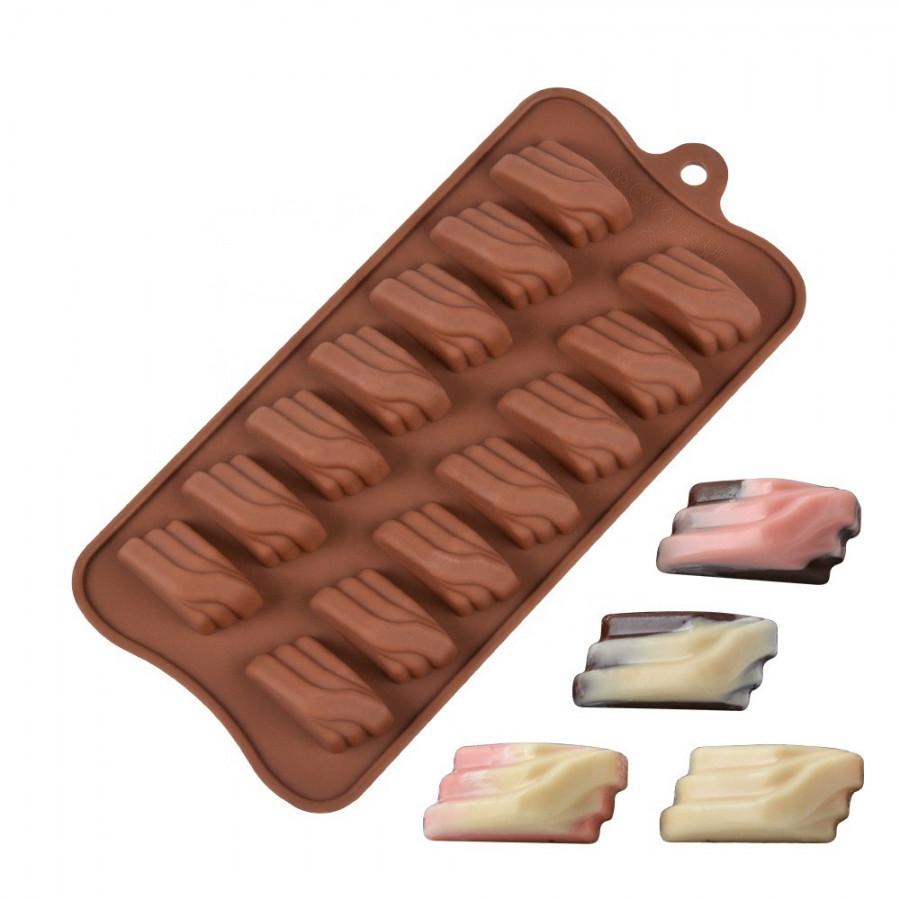 Forma silikonowa do czekoladek pralinek FALA 9117