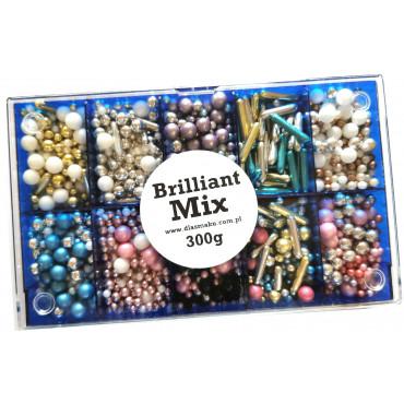 Posypka cukrowa BRILLIANT MIX 300g zestaw prezentowy w pudełku