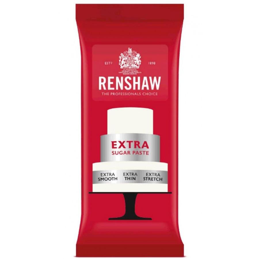 Renshaw Masa cukrowa lukier plastyczny BIAŁY 1kg bez E-171 R02834