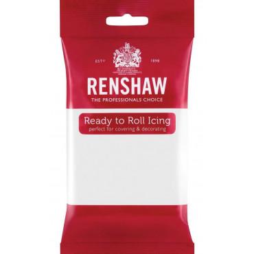 Renshaw Masa cukrowa lukier plastyczny BIAŁY 250g bez E-171 R02916