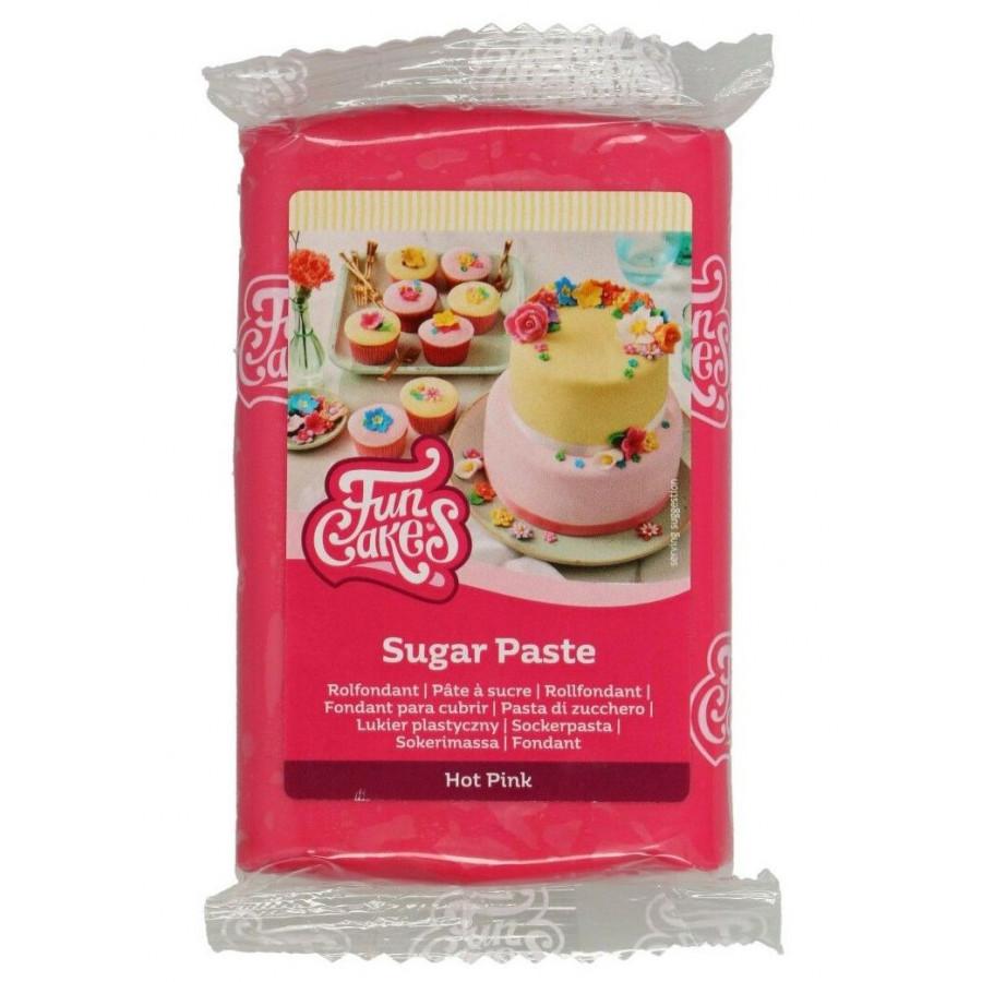 Fun Cakes Masa cukrowa lukier plastyczny HOT PINK 250g
