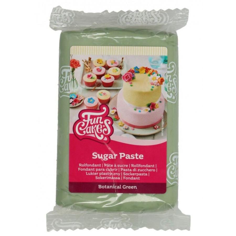 Fun Cakes Masa cukrowa lukier plastyczny BOTANICAL GREEN 250g