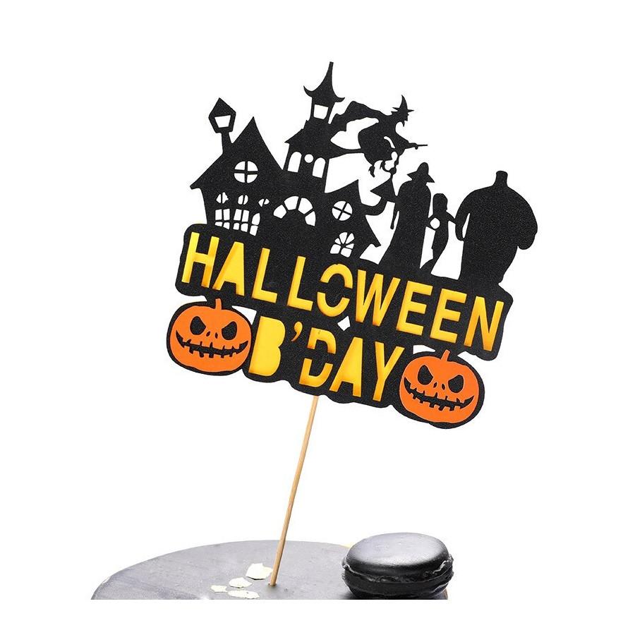 Topper na tort Halloween B'Day 9177