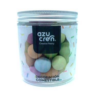 Duże perły do dekoracji CHOCOBALLS PASTELOWY MIX 150g AZ00203