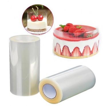 Folia rantowa do deserów na zimno przeźroczysta wys.10cm dł. 10m MB-14182