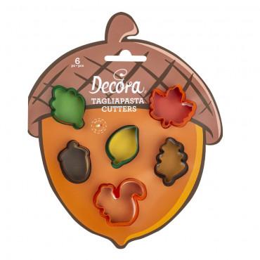 Decora Zestaw do tworzenia jesiennych MINI ciasteczek 0255213