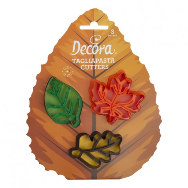 Decora Zestaw do tworzenia jesiennych ciasteczek LIŚCIE 0255165