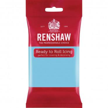 Renshaw Masa cukrowa lukier plastyczny BŁĘKITNY BABY BLUE 250g R02919