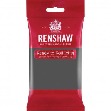 Renshaw Masa cukrowa lukier plastyczny SZARY GREY 250g R02908