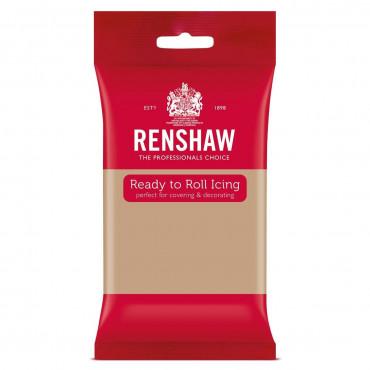 Renshaw Masa cukrowa lukier plastyczny KAWOWY LATTE 250g R02933