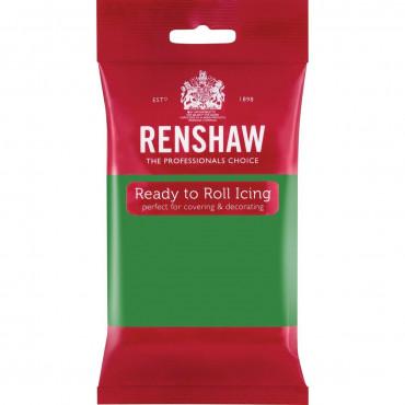 Renshaw Masa cukrowa lukier plastyczny ZIELONY LINCOLN GREEN 250g R02924