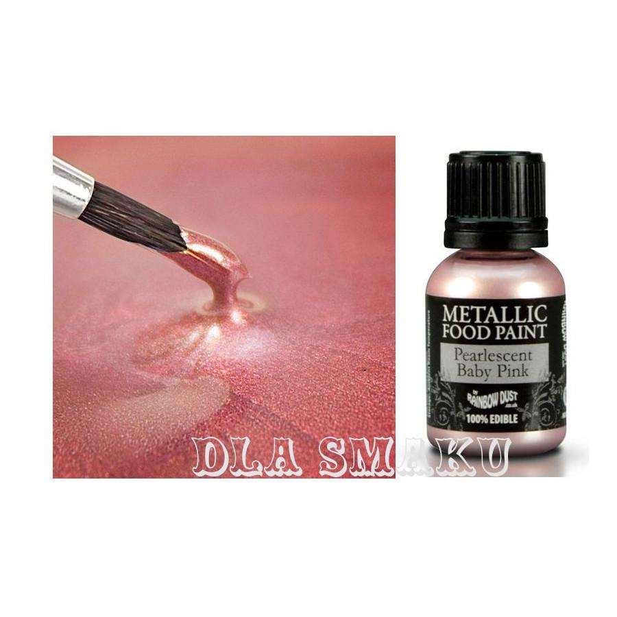 Farbka Metaliczna Rainbow Dust Różowa