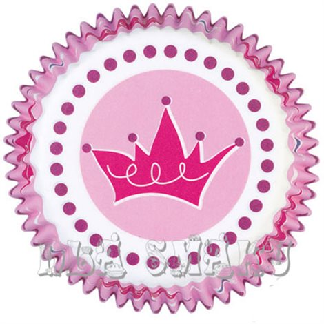 Papilotki Wilton do muffinek Princess 75 szt