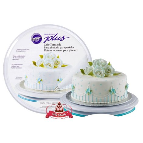 WILTON TALERZ OBROTOWY TRIM'N TURN PLUS TORT MASA